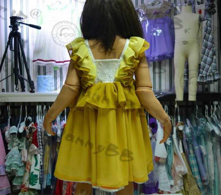 kids embroidery dress