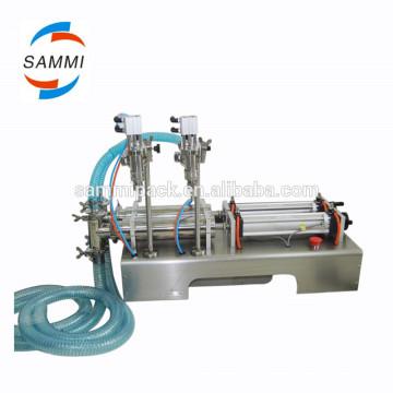 gfc-2y-500 Máquina de llenado de líquidos de alta precisión y doble cabezal doble 100-1000ml