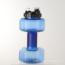 Factory Direct Sale Large Capacity Dumbbell Cup New Creative Sports Kettle Portable Water Cup Space Cup