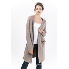 Women′s Pure Color Cardigan
