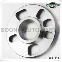 billet aluminum alloy hub centric bolt on wheel spacer
