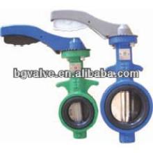 Válvula de retención Wafer de doble placa