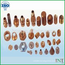 Pieza de metal de precisión de CNC de piezas mecánicas de alta calidad