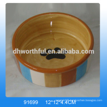 High quality ceramic pet bowls