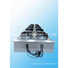 Radiador horizontal del motor de gas de Jichai 1000kw