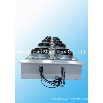 Radiateur horizontal à gaz Jichai 1000kw