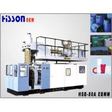 80L extrusão sopro moldando máquina Hsb-80A
