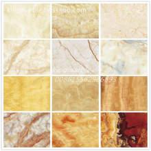Wall Covering PVC Marble Decorative Plastic Sheet UV Panels