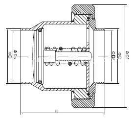 sanitary-check-valve-union-type-CHECK-VALVE-KAYSEN
