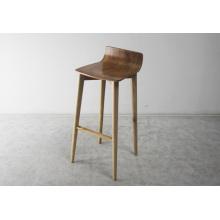 Cadeiras de madeira da barra da madeira de alta qualidade da madeira contínua da mobília
