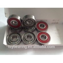 Skateboard Bearing 608 one side red rubber seal ceramic skate bearing reds