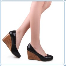 Fashion Wedge Platform High Heel Women′s Shoes (Hcy02-795-3)