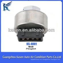 Interruptor de presión del aire acondicionado del automóvil para Peugeot
