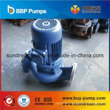 Pompe verticale de canalisation d'eau froide et d'eau chaude