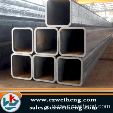 Best Quality for Black Square Steel Tube 100x100 MS carbon square steel tube supply to Canada Exporter