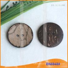 Botões de coco natural para vestuário BN8048