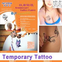 Papel provisório do decalque da corrediça de água do papel do tatuagem do Inkjet / laser