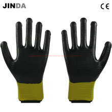 U203 Nitrile Coated Zebra-Stripe Construction Safety Work Gloves