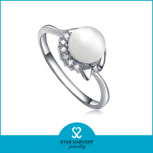 Últimas Whosale Precio Pearl Ring