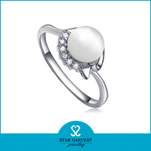Latest Whosale Price Pearl Ring
