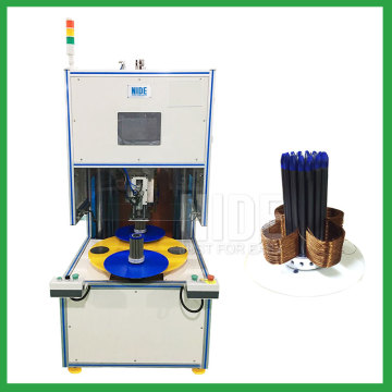 High speed electric motor stator automatic coil winding machine