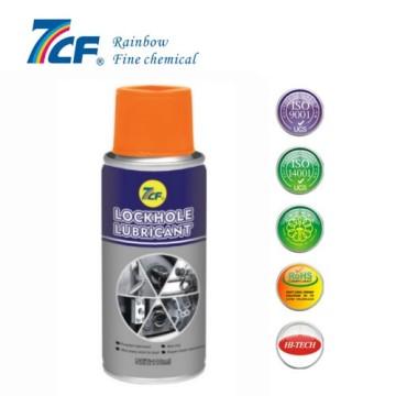 powder lockhole lubricant