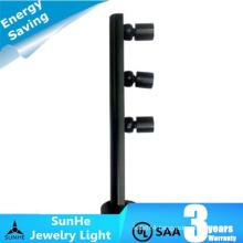 single & multi led head sopt led jewelry light 120 degree adjustable
