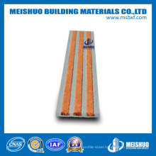Non Slip Carborundum Inserts External Aluminum Safety Tread