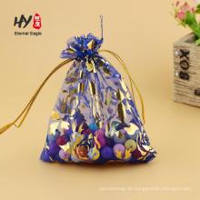 Fancy Organza Beutel verschiedene geformte Taschen benutzerdefinierte