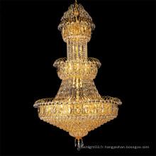 Phare de lumière d'ingénierie d'hôtel Lampe de chandelier Les lumières de hall