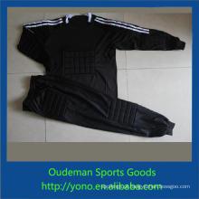 Camisas de futebol genérico, mais recente jovem futebol goleiro roupas de futebol personalizado jersey