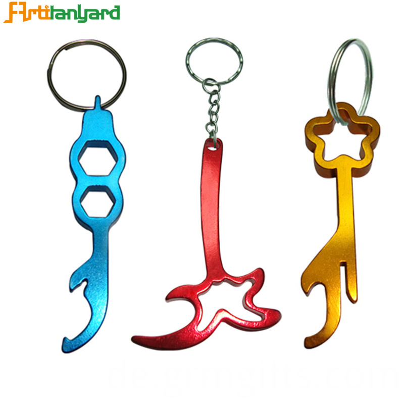 Beer Bottle Opener Keychain