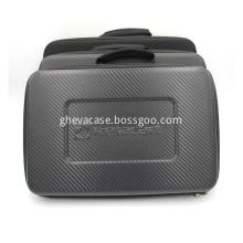 Custom foam instrument hard tool case with handle