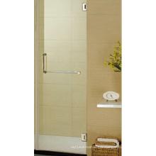 Porte de douche en verre sans charnière de porte de douche sans cadre de 36 po