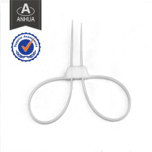Police Disposable Nylon66 Handcuff with Two Loop