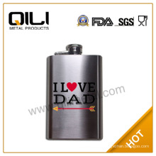 Stainless steel 5oz fashion hip flask
