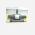 robinet à tournant sphérique à souder dn200 en acier inoxydable