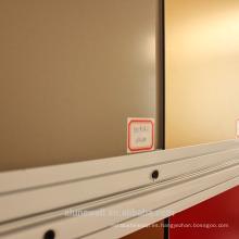 Alunewall Materiales de pared exterior de panel compuesto de aluminio recubierto de nano PVDF resistente a la contaminación