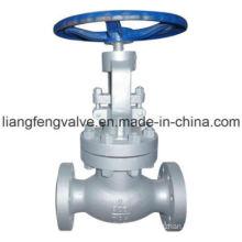Válvula de globo de extremidade de flange de aço carbono aço RF