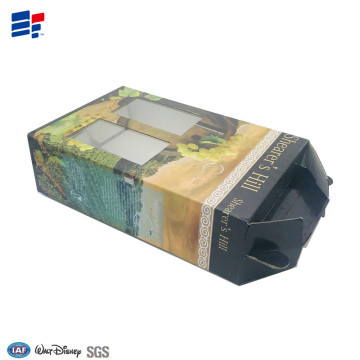 paper insert Corrugated wine packaging  box
