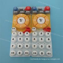 Benutzerdefinierte Silkscreen Silicone Rubber Keypad