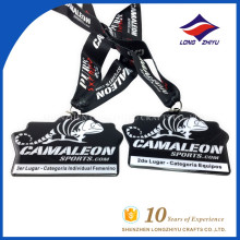 New design custom printed wholesale printing medal