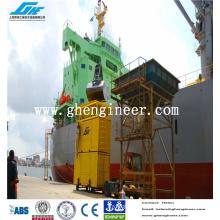 Pesaje y ensacado en puerto de contenedores Máquina para cinta transportadora