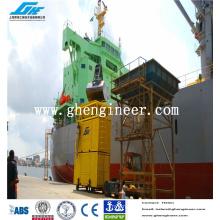 Portée Containerized Pesage et ensachage Machine pour convoyeur