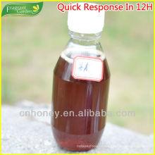 Чистый черный гречневый мед