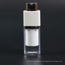 Botella Airless de empaquetado cosmético plástico sin aire de la botella de 15ml (NAB33)