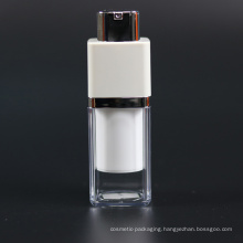 15ml Plastic Airless Bottle Plastic Cosmetic Packaging Airless Bottle (NAB33)
