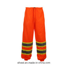 High Visibility Safety Rain Pants Waterproof for Adults
