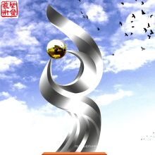 2016 Modern Sculpture High Quality Fashion Urban Statue Modern Stainless Steel Sculpture