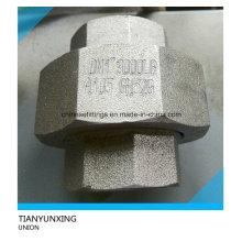 A105 forjado de acero de carbono de rosca hembra de rosca Unión